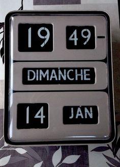 Horloge Dator 5 Vintage Solari Udine Flip Flap A Volet Clock Flipflap Murale
