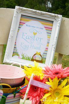 Spring Striped Easter Bunny Party « Bella Paris Designs