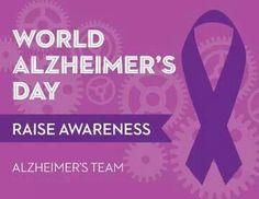 September 21st World Alzheimers Awareness Day
