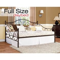 Victoria Full Metal Daybed, Bronze also consider for under deck room