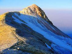 Camino entre la segunda rodilla y el Monte Venus