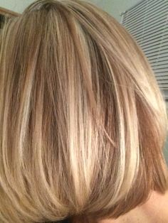 My new hair color. Blonde highlights.