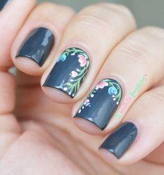 Essie The perfect cover up // Sombre mais végétal | La paillette frondeuse | Bloglovin'
