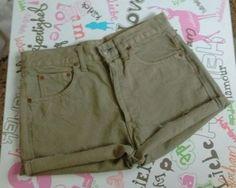 Pantalon-Jeans-70s-autentico-vintage-color-caqui-talla-38-y-40-W29-y-W30-NUEVO