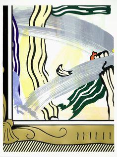Roy Lichtenstein 'Painting in Gold Frame from 'Paintings'', 1983–4 © Estate of Roy Lichtenstein