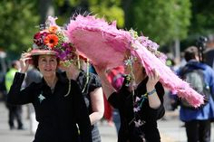 chelsea flower show 2013 | Hats at the 100th Chelsea Flower Show 2013. Photo courtesy of Pauline ...