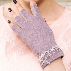Winter Accessories, Women Accessories, Cotton Gloves, Ethnic Wear Designer, Driving Gloves, Fingerless Mittens, Clothing Hacks, Ebay Clothing, Pink Beige