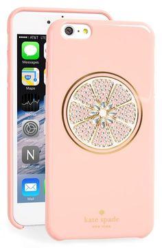 Grapefruit Kate Spade iPhone 6+ case
