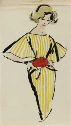 """The Denver Art Museum """"Drawn to Glamour: Fashion Illustrations by Jim Howard"""" presents the award-winning editorial work by artist Jim Howard."""