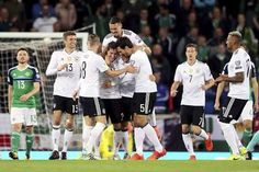 Germany seals World Cup place with 3-1 victory in Belfast