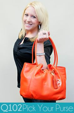 Michael Kors - Ring Tote in Mandarin. Go to wkrq.com to find out how to play Q102's Pick Your Purse!