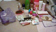 Whats is in my holiday makeup bag.