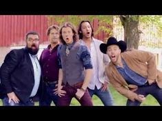 "In case you haven't seen it, country a capella group Home Free did a pretty amazing cover of ""All About That Bass."" 