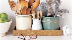 The Rules of Kitchen Organization and more on MarthaStewart.com