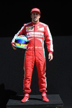 Round 1, Rolex Australian Grand Prix 2013, Preparation, #3 Fernando Alonso (ESP), Driver, Scuderia Ferrari