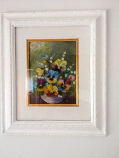 Beautiful Florals in a soft Frame