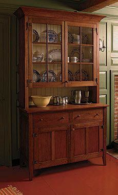 Woodworking Techniques Build a Country Hutch - Fine Woodworking Article Woodworking Techniques, Woodworking Furniture, Fine Woodworking, Diy Furniture, Woodworking Projects, Wood Projects, Woodworking Classes, Woodworking Videos, Woodworking Magazine