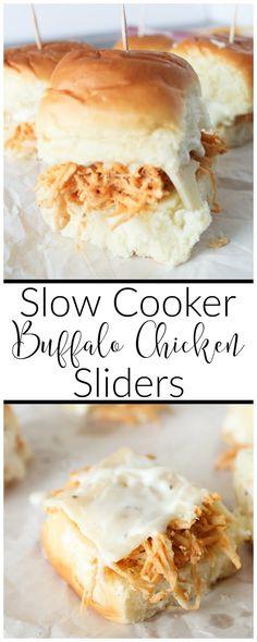 slow-cooker-buffalo-chicken-sliders