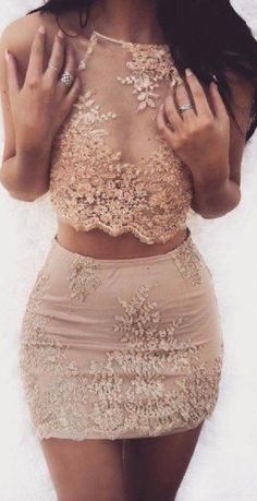 Popular Two Pieces Charming Halter Short Homecoming Dresses, – Prom Muse Hoco Dresses, Tight Dresses, Cute Dresses, Homecoming Dresses Short Tight Sleeves, Unique Homecoming Dresses, Modest Dresses, Satin Dresses, Evening Dresses, Petite Prom Dress