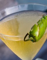Jalapeno Margarita Cocktail Recipe - Mixed Drink Recipe for a Don Julio Jalapeno Margarita