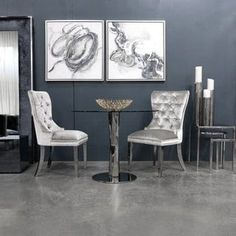 New Alpena Upholstered Dining Chair by Everly Quinn. kitchen dining furniture sale from top store Wingback Dining Chair, Luxury Dining Room, Dining Chair Upholstery, Upholstered Dining Chairs, Dining Room Furniture, Modern Dining Chairs, Furniture, Tufted Dining Chairs, Room Chairs
