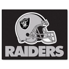 """The Oakland Raiders All Star Mat by FanMats measures 34"""" x 45"""""""
