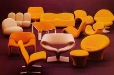 Pierre Paulin chairs | Flickr - Photo Sharing!