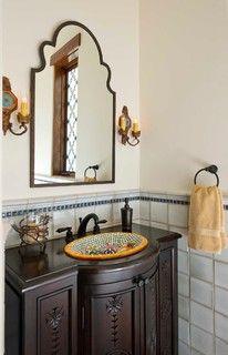 spanish style kitchen design with saltillo tile floors and talavera stone backsplash ideas. Black Bedroom Furniture Sets. Home Design Ideas