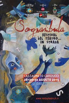 Not so far from here , a new theatral event in Tuscany . The little medival town of CASTAGNETO CARDUCCI  will be the stand of 3 wonderfull days