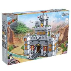 BanBao Interlocking Blocks Black Sword Castle 8260 (988 Pcs)
