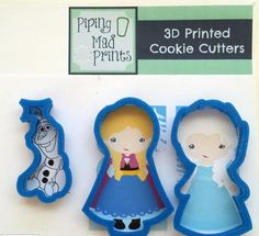 Disney Frozen cookie cutters - Anna, Elsa & Olaf