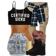 Sicko by blasianmami16 on Polyvore featuring polyvore, fashion, style, FRACOMINA, Timberland, Fremada and clothing