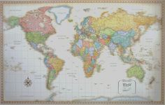 Rand's Classic World Map