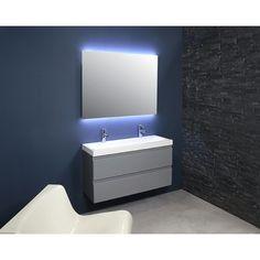 Ink Dock 40 badmeubel 120cm Vanity Cabinet, Bathroom Furniture, Modern Bathroom, Ink, Mirror, Inspiration, Home Decor, Mirrors, Biblical Inspiration