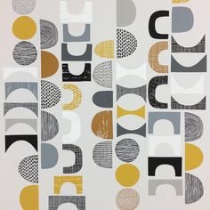 """One of today's picks. """"Cut-outs"""", 2016. . . . . #cutouts #collage #digitalcollage #print #gicleeprint #shapes #texture #pattern #design #textiledesign #surfacepattern #eloiserenouf"""