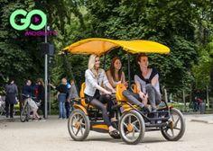 3.500 Ft helyett 2.100 Ft: Barangoljátok be a Margitszigetet a bringóhintók 2. generációjával! Gran Tour Gokart-kölcsönzés 60 percre, akár 4 személy részére!
