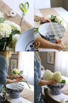 Elle Apparel: A SIMPLE TRICK FOR THE PERFECT SPRING FLOWER ARRANGEMENT {TUTORIAL}