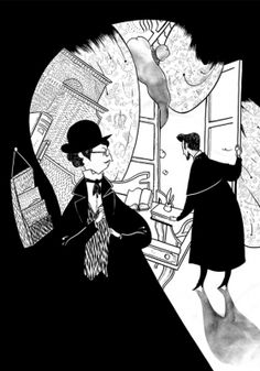 Illustrations for the New Yorker, NYT & other places by Roman Muradov, via Behance