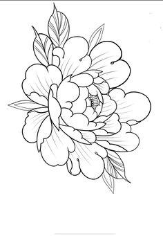 Dope Tattoos, Body Art Tattoos, Tattos, Japanese Wave Tattoos, Japan Flower, Money Tattoo, Oriental Flowers, Tattoo Portfolio, Peonies Tattoo