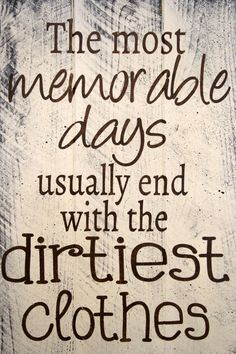Laundry Room Sign The Most Memorable Days by RusticlyInspired