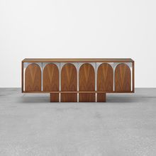 VLADIMIR KAGAN, cabinet | Wright20.com Simple Interior, Minimalist Interior, Minimalist Design, Sideboard Cabinet, Cabinet Furniture, Furniture Design, Joinery Details, Storage Cabinets, Outdoor Furniture
