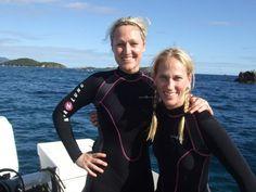 Scuba Diver Girls | US Virgin Islands