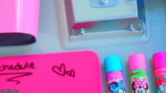 Attach ChapStick and lip gloss to your locker door. Just add a piece of magnet to the back of the tube.