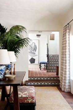 Spanish Colonial Homes, Spanish Style Homes, Spanish House, Spanish Revival, Spanish Style Bedrooms, Spanish Style Interiors, Santa Monica, Spanish Interior, Modern Spanish Decor
