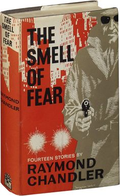 Raymond Chandler, The Smell of Fear, London: Hamish Hamilton, Jacket by Youngman Carter. Pulp Fiction Book, Fiction Novels, Crime Fiction, Book Cover Design, Book Design, Raymond Chandler, Crime Books, Thriller Books, Sci Fi Books