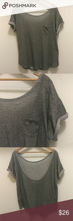 Abercrombie & Fitch Low Back Top Sz L Abercrombie & Fitch Low Back Top Sz L Abercrombie & Fitch Tops Tees - Short Sleeve