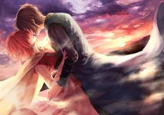 Anime: Akatsuki no Yona Personagens: Yona e Hak