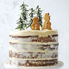 Make it the most magical Christmas ever with our new Celebrate issue, out now! It features a bespoke festive menu, edible decorations and enchanted cakes – like this hazelnut and brandy forest cake. C (Christmas Bake Decorating) Noel Christmas, Christmas Goodies, Christmas Desserts, Holiday Treats, Christmas Treats, Holiday Recipes, Magical Christmas, Christmas Cakes, Christmas Menu Ideas