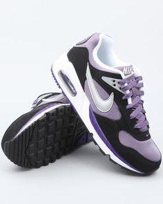 Nike Women's Air Max Correlate Leather 525381 100 size NINJA