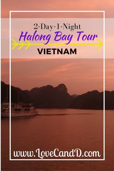 Halong Bay in Vietnam is a must see. We went on a 2-day-1-night party cruise tour. See how we got on.
